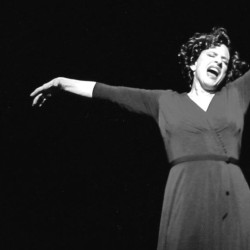 Patti Lupone's performance style is legendary. A still from Gypsy on Broadway